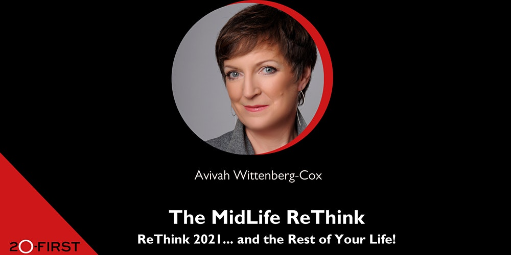 Photo of Avivah wittenberg-cox, facilitator of the Midlife Rethink